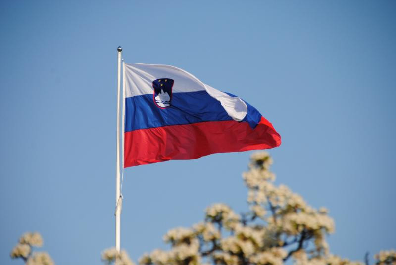 National flag of the Republic of Slovenia