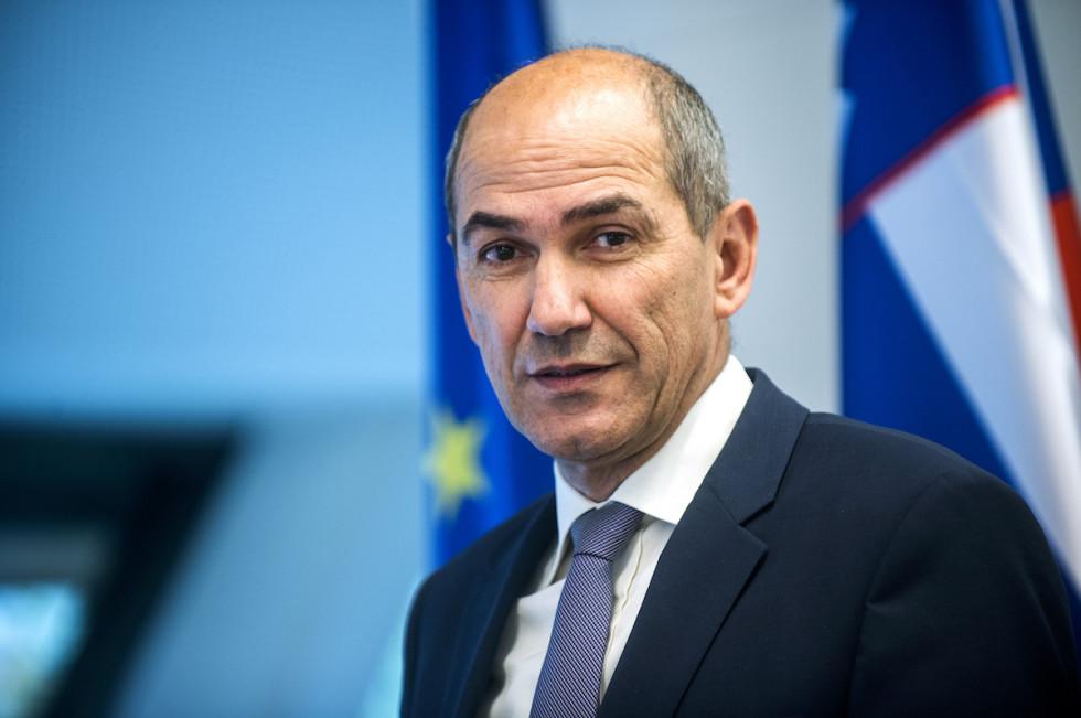 Predsednik vlade Janez Janša