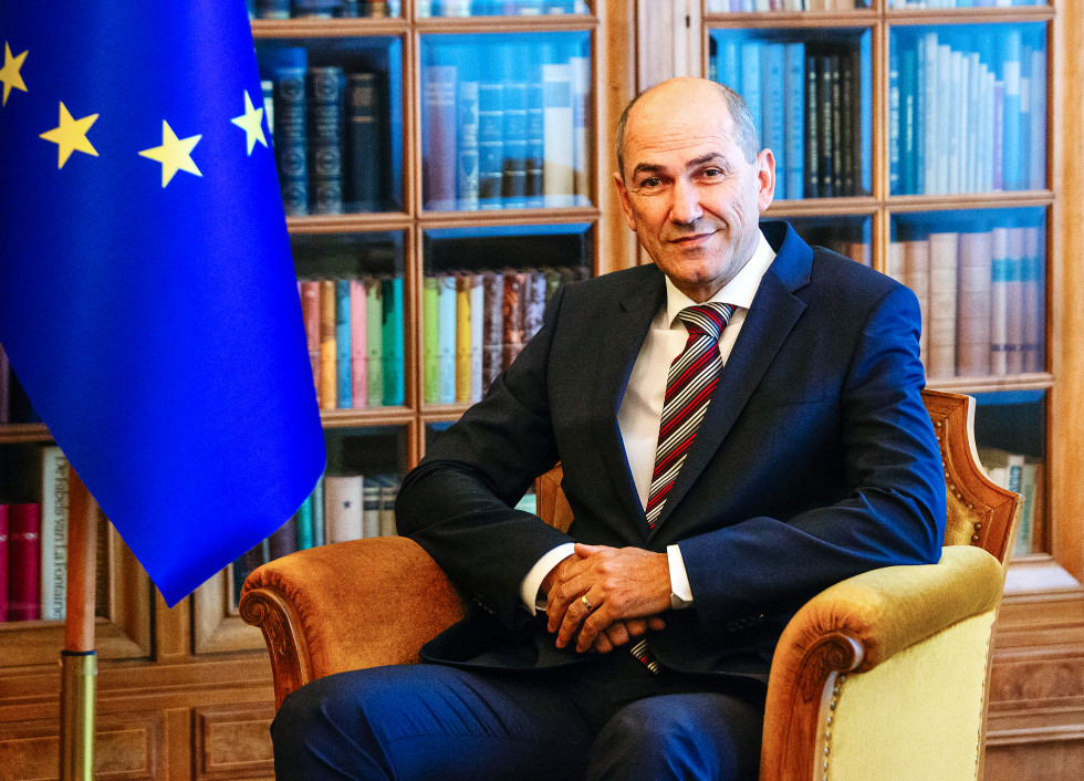Predsednik vlade Predsednik vlade Janez Janša