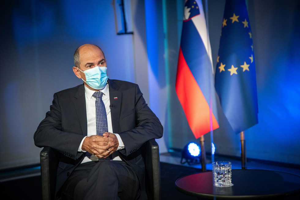 PM Janez Janša was a guest on the programme A Talk with the Prime Minister on TV Slovenia.