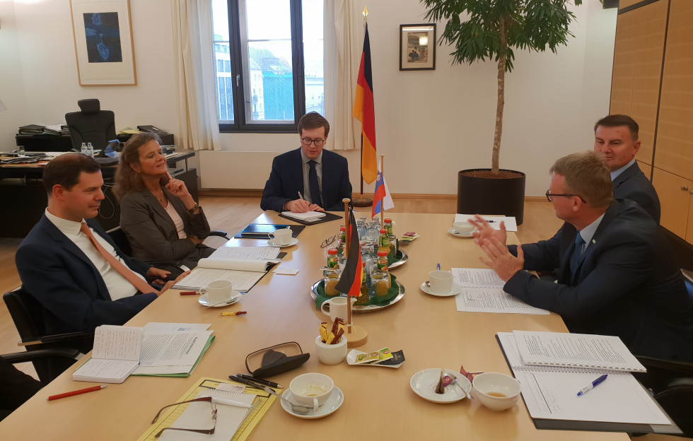 Meeting of high-level representatives from Germany, Portugal and Slovenia to discuss preparations for the presidency of the Council of the EU
