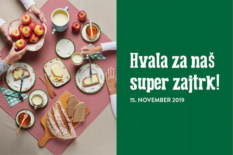 Plakat Tradicionalni slovenski zajtrk 2019
