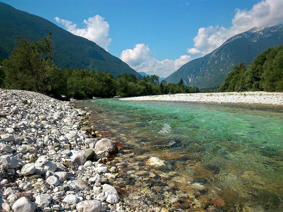 Fotografija reke Soče