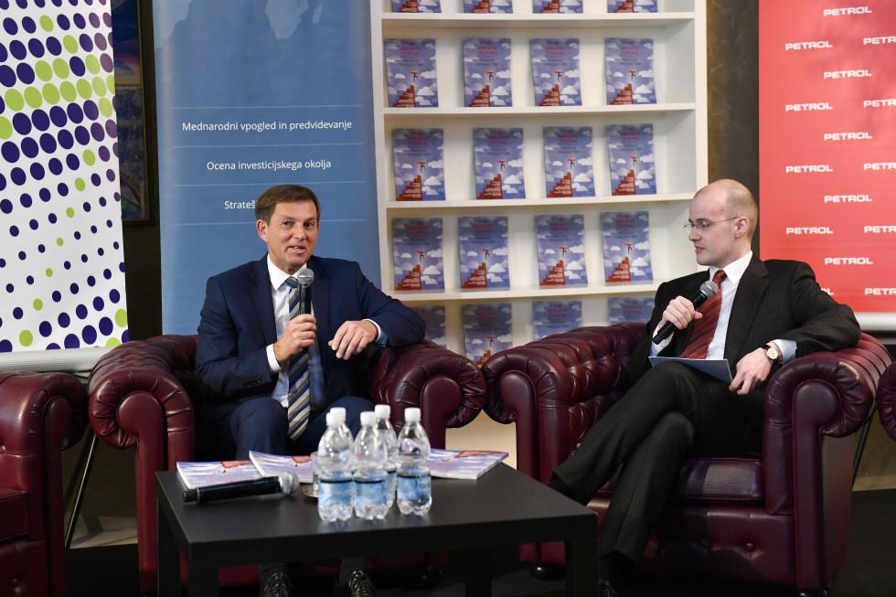 Minister za zunanje zadeve dr. Miro Cerar in Jure Kosec