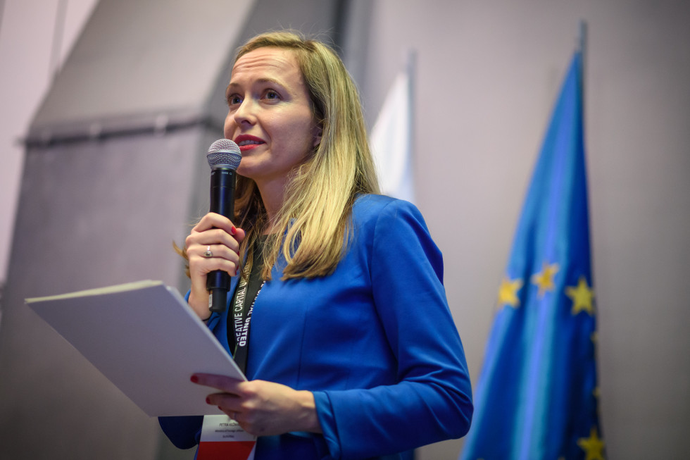 Petra Kežman, head of the Department for Public Diplomacy and International Cooperation in Culture