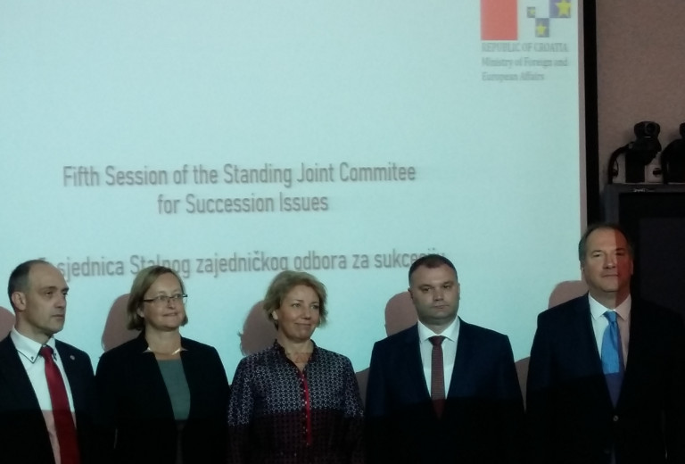 Senior representatives for succession issues meet in Zagreb