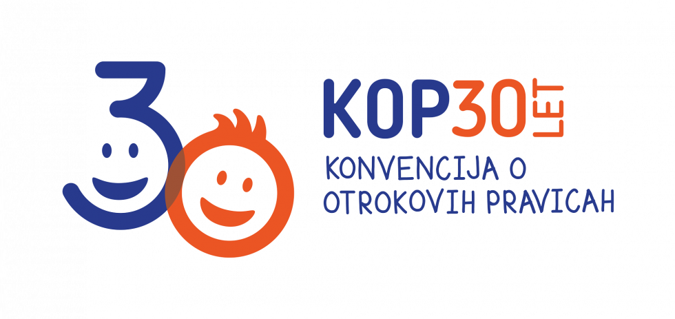 Logo 30th anniversary of the Convention on the Rights of the Child