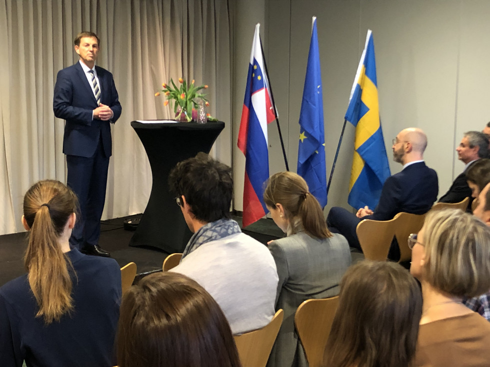 Address by Foreign Minister Dr Miro Cerar at the general meeting of the Slovenian Association in Sweden