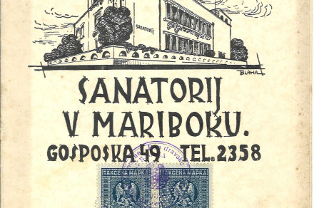 Dr. Mirko Černič and the 90th Anniversary of the Opening of the Sanatorium in Maribor