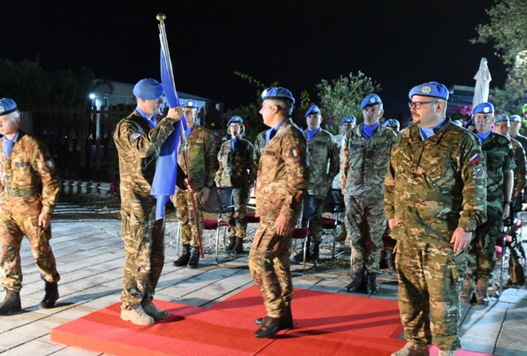 28th Slovenian UNIFIL Contingent assumes duties within the international mission in Lebanon