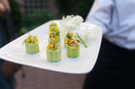 DAmico Catering Cucumber Cup with Thai Crab Salad FLICKR4841307027 9634ae401b b