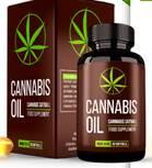 Slika embalaže prehranskega dopolnila CANNABIS olje in CANNABIS olje v kapsulah