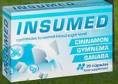 Slika embalaže prehranskega dopolnila INSUMED