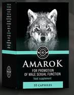 Slika embalaže prehranskega dopolnila AMAROK