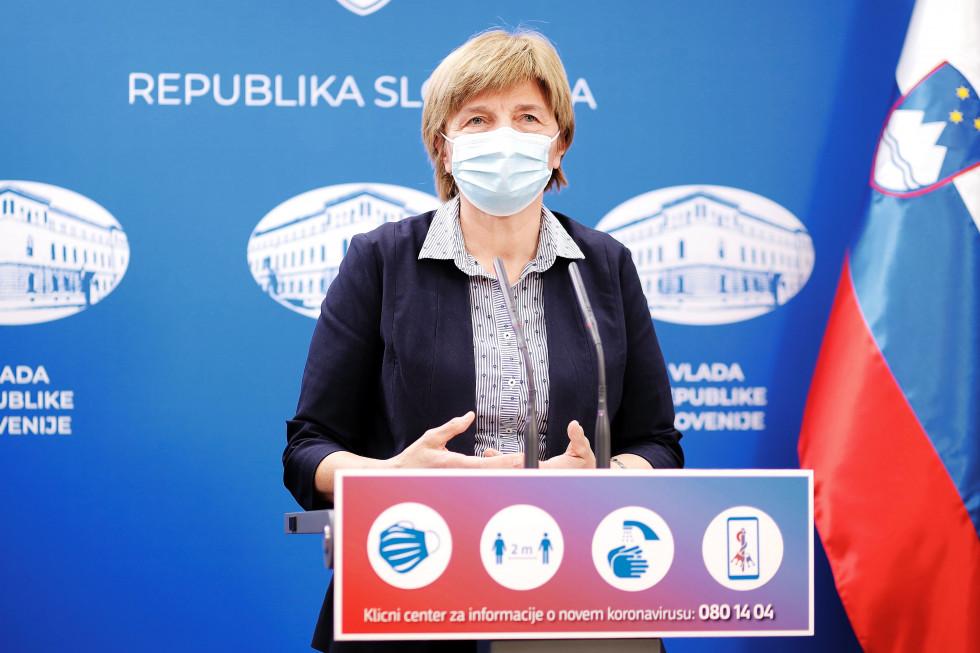 State secretary at the Ministry of Health Marija Magajne