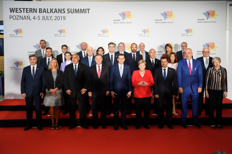 Slovenian prime minister Marjan Šarec has taken part in the 6th summit of the heads of government of the countries of the Berlin Process in Poznań.