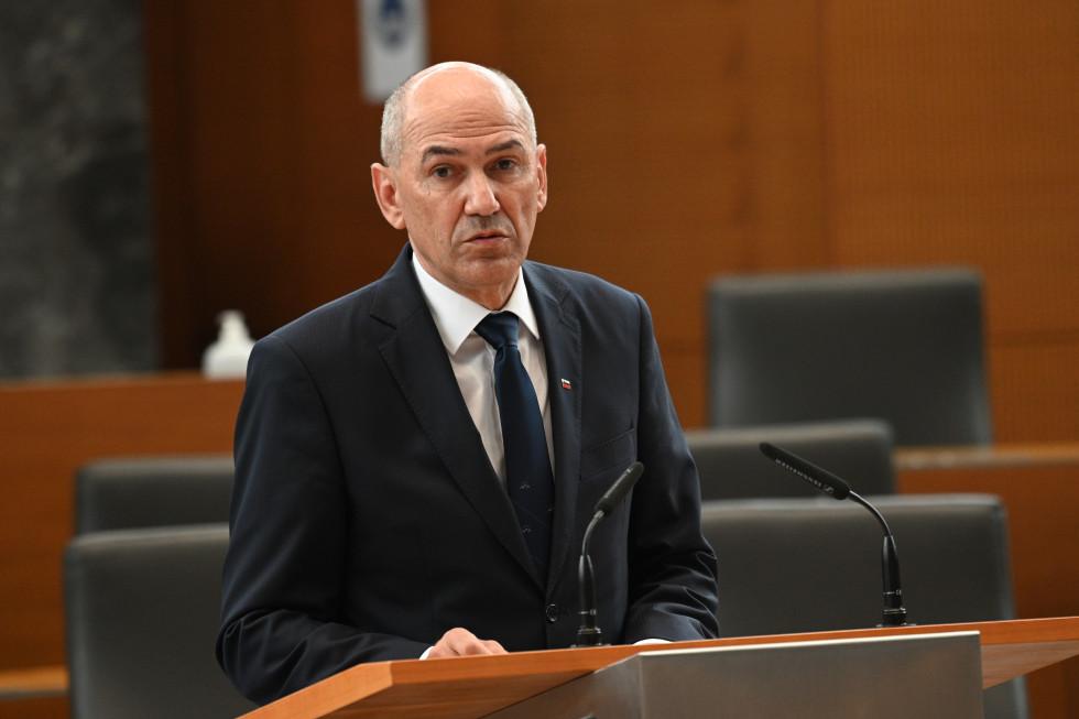 Predsednik vlade v Državnem zboru o predlogu za kandidata za ministra brez resorja, pristojnega za digitalno preobrazbo