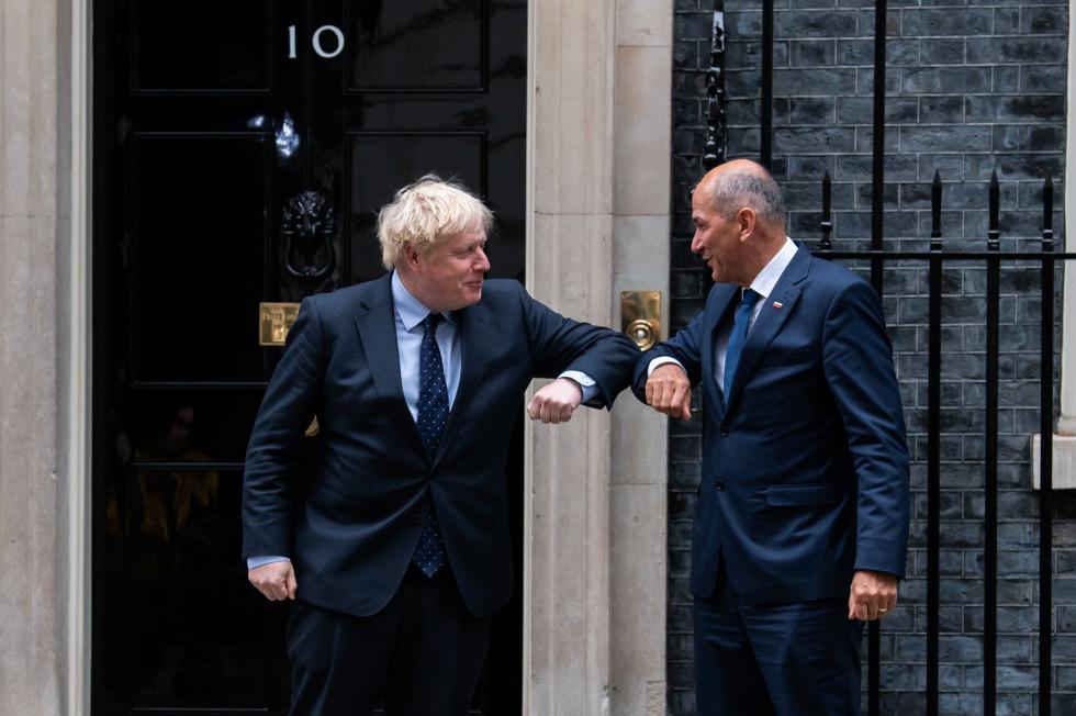 Predsednik vlade na delovnem obisku v Londonu