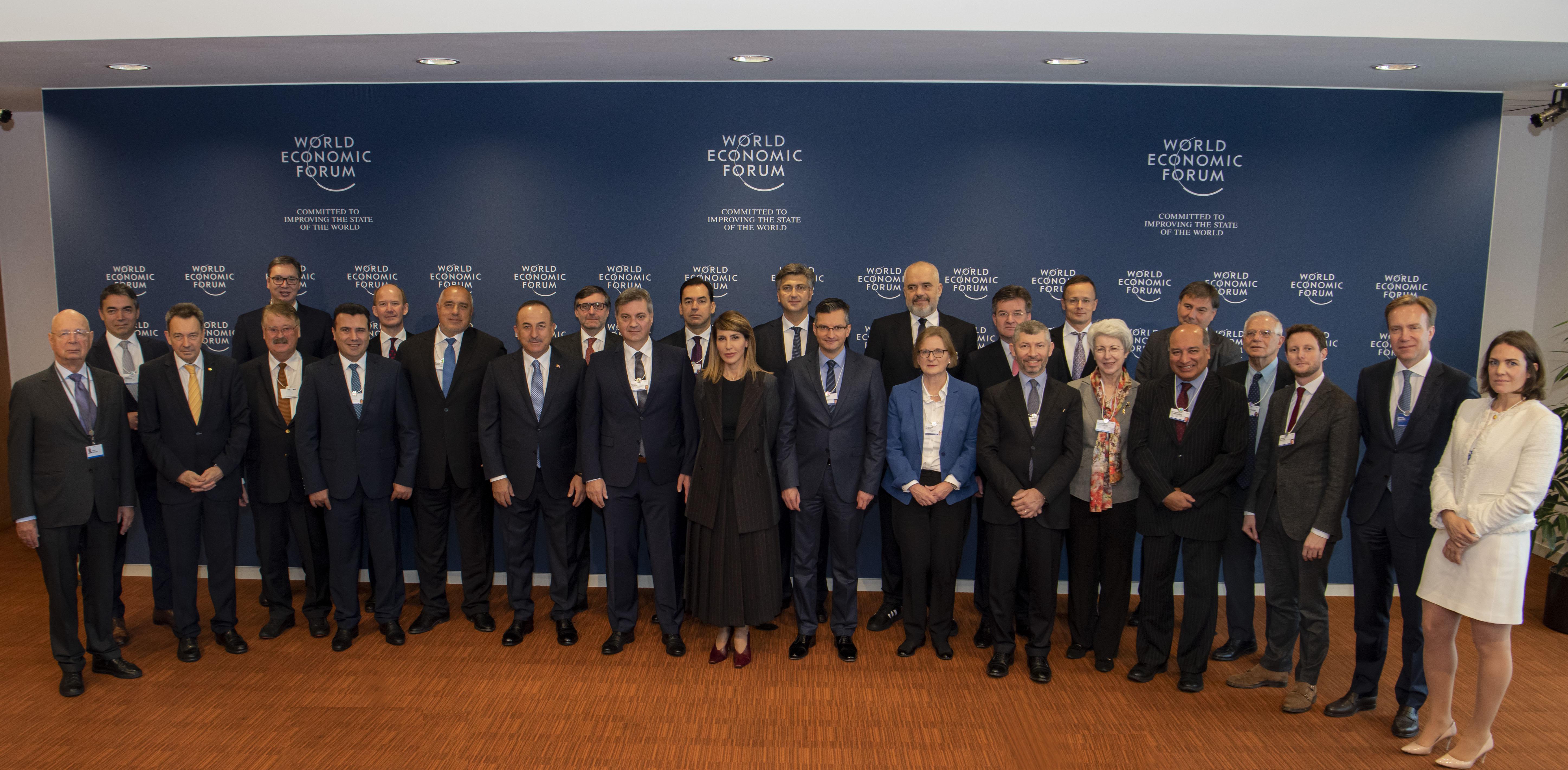 Udeležnci Strateškega dialoga o Zahodnem Balkanu