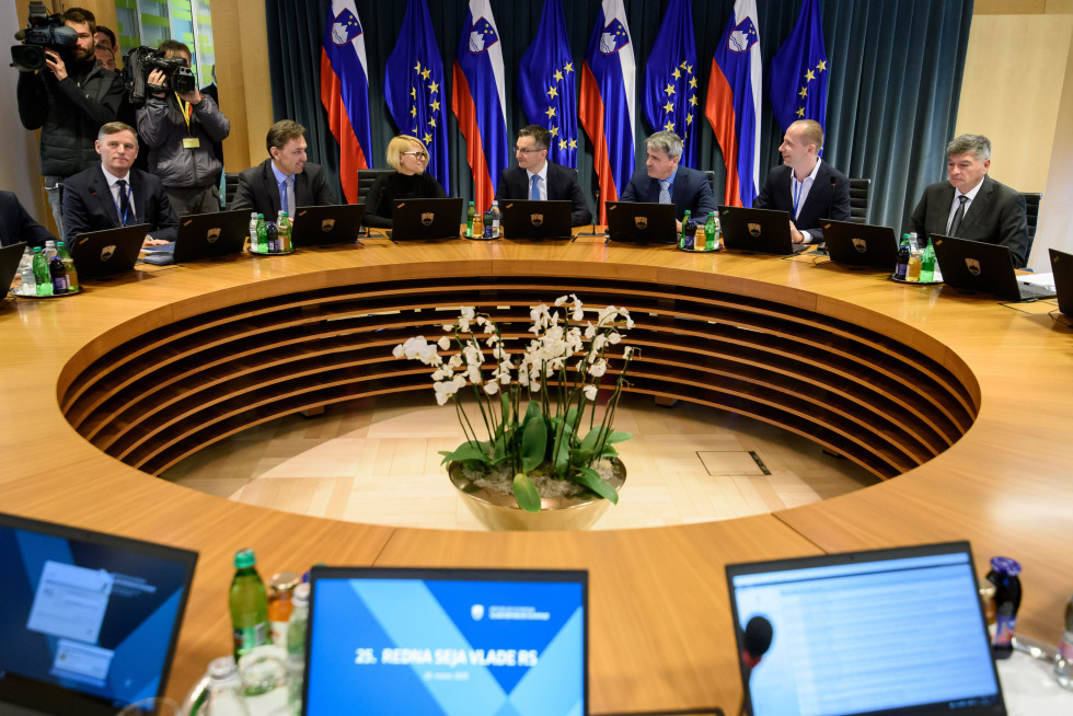 53rd ordinary session of the Government of the Republic of Slovenia.