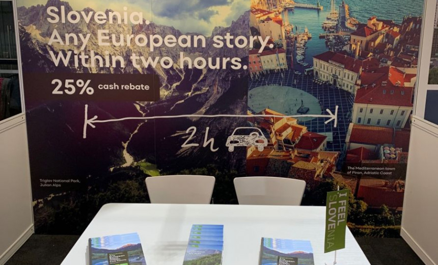 "Promotional campaign ""Slovenia. Any European story. Within two hours. Drive less. Film more. Film in Slovenia."""
