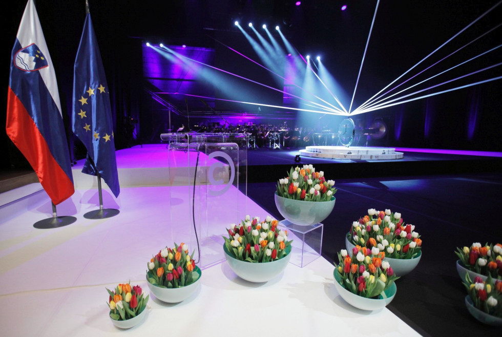 The Prešeren Award Ceremony is an important annual event