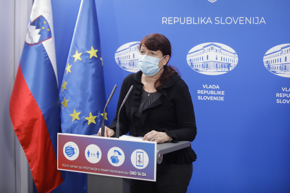 Director-General of the Public Health Directorate Vesna Kerstin Petrič