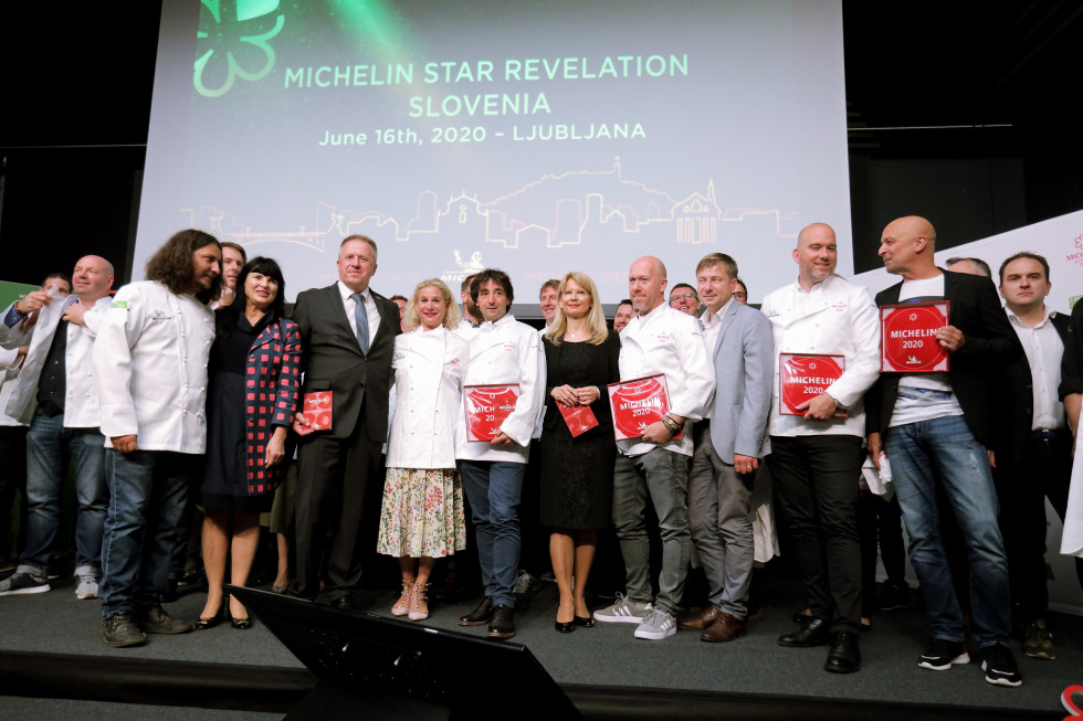 Chef Ana Roš awarded two Michelin stars, five restaurants get one each