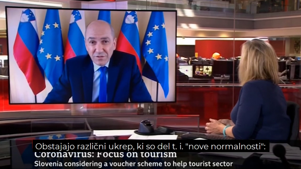 "We will do everything to ensure that holidays in Slovenia will be totally safe,""stressed PM Janez Janša"
