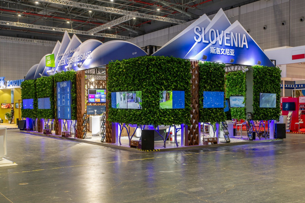 Slovenia presented itself to the Chinese business world as a land of high technology and innovative products and services