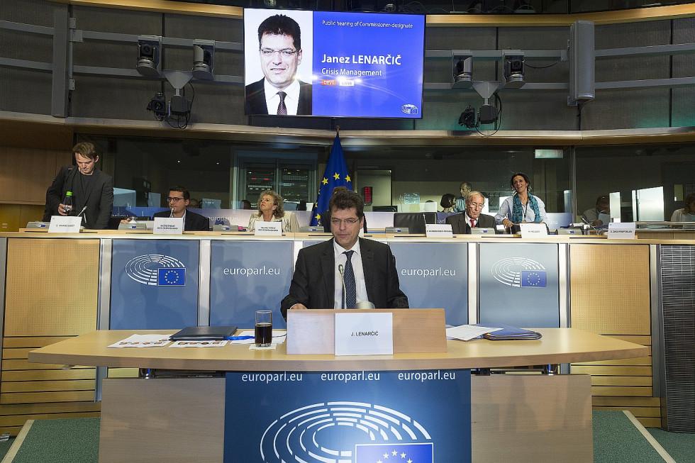 Lenarčič hearing addressed key humanitarian aid issues