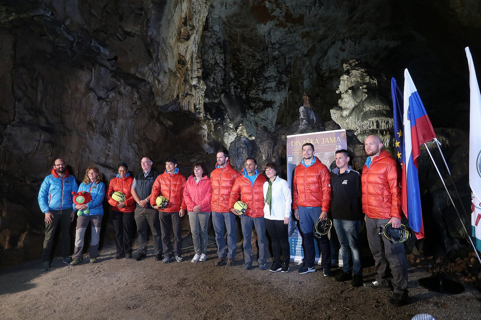 Astronauts from five space agencies have been training in Slovenia these days for space missions as part of the CAVES programme by ESA
