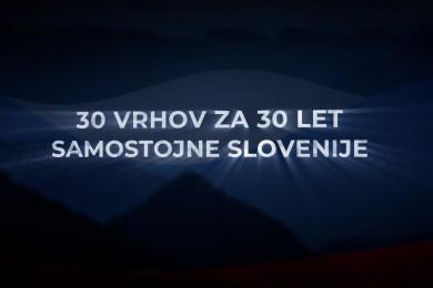 Prizori iz filma 30 vrhov za 30 let samostojen Slovenije.