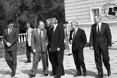Predsedniki jugoslovanskih republik.
