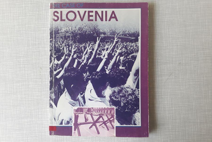 Barvna slika publikacije Nove revije »The case of Slovenia«,