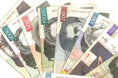 bankovci različnih vrednosti